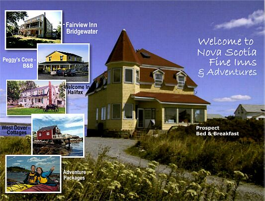 Welcome to Nova Scotia Fine Inns and Adventures