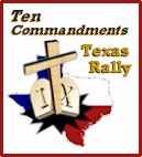 Ten Commandments Texas Rally