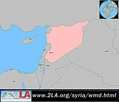 Syria Map General View