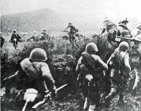5th Army forces advance