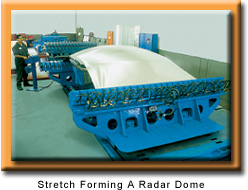 Stretch Forming A Radar Dome