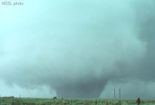Shamrock, TX Tornado from May 16, 1977