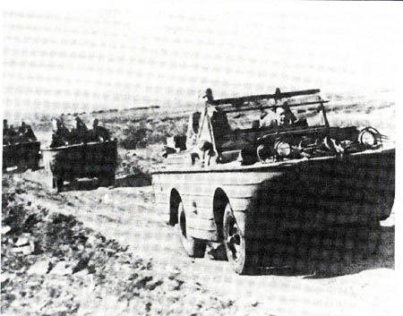 Soviet amphibious vehicles of the 2d Far Eastern Front