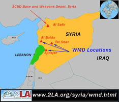 Iraq's WMD locations in Syria
