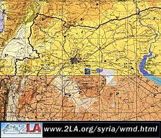 Syria SCUD Base Location