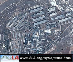 Chemical Weapons plant - Syria