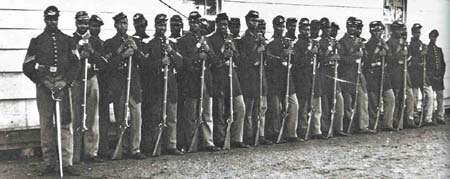 A company of the 4th USCT