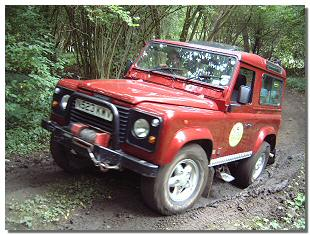Picture of off-road 4x4 vehicle