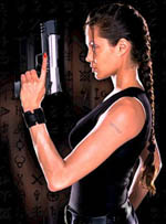 "A ""Full Sabrina,"" demonstrated by Angeline Joli as LARA CROFT."