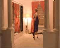 Kidman before dropping her dress