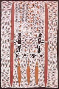 Mandjuwi painting