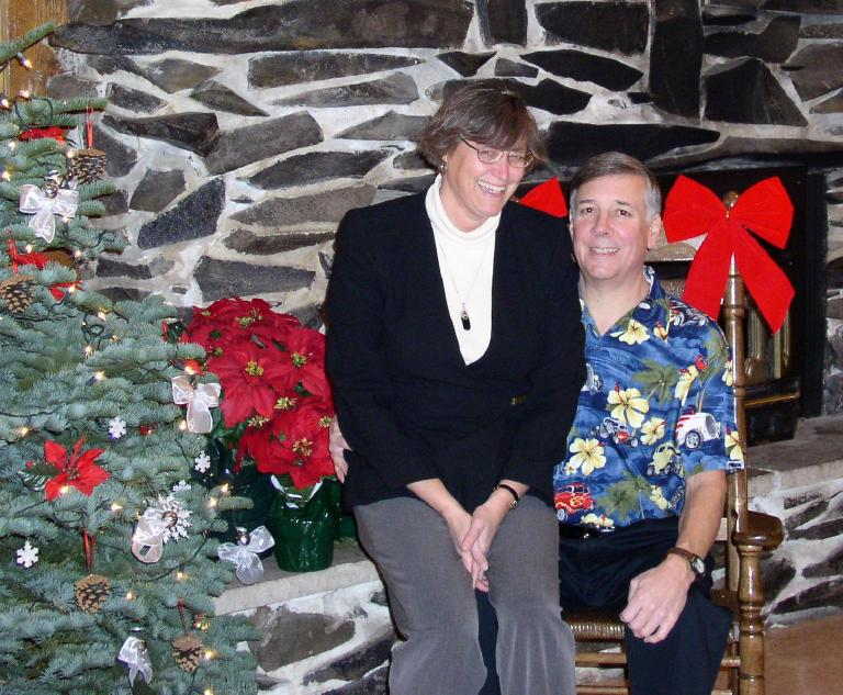 Michael and Kathy Blair, December 4, 2004