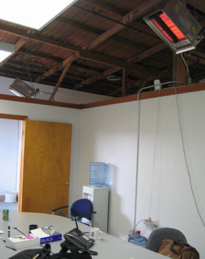 Meeting Room at a Startup