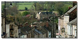 Picture of rooftops on The Bank, Barnard Castle