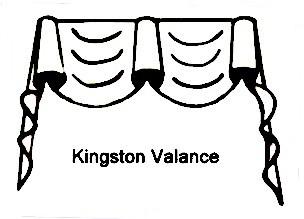 Formal Kingston, soft window treatments
