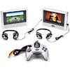 Polaroid Dual-Screen Car DVD Player w/ Game Controller & Built-In Games
