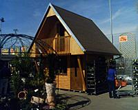 A cottage in Hornbach hobby centre