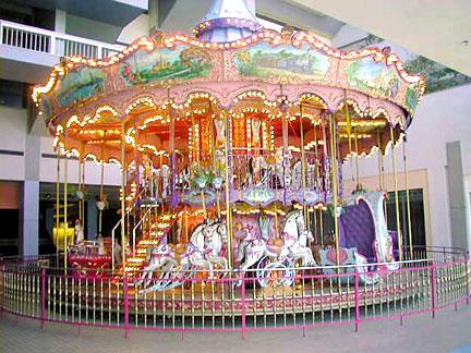 Bertazzon Double-Deck Venetian Carousel