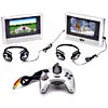 Polaroid Dual-Screen Car DVD Player w/ Game Controller & Built-In Games