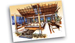 Tao Beach Restaurant, Offer Thai, Italian and Vegetarian dishes