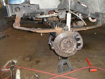 , Jeep Brake And Knuckle Conversion And Upgraded Steering For Jeep Wrangler YJ's, The Truck Guide