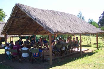 Morning class near Nanyuki