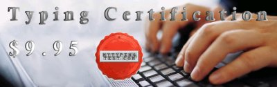 Typing Certification - mytypingtest.com