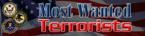 Most Wanted Terrorists Banner