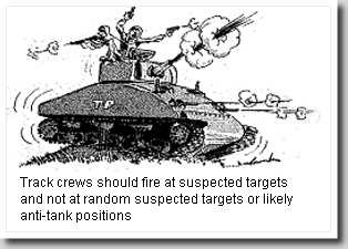cartoon sherman tank random fire