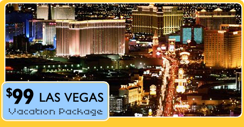 $99 Las Vegas Vacation Package