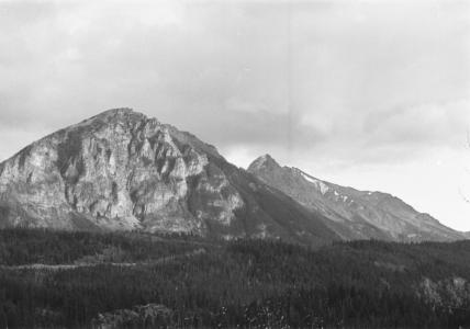 Mt. Truax and the Kingdome from Lajoie; Brexton in centre of picture
