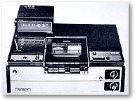 1976 betamax VCRs: click for more information about these images