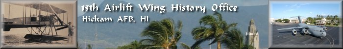 15th Airlift Wing History Office banner