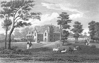 Trewan Hall : A old picture of Trewan Hall