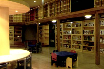 Children's section of the library