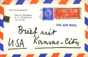 Brief uit Kansas-City (1957)