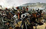 Richard Caton-Woodville's famous painting of The Charge of the Light Brigade