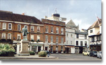The town square, Romsey