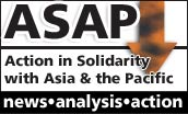 Action in solidarity with Asia and the Pacific