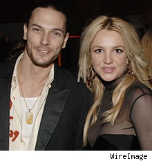 Kevin Federline & Britney Spears
