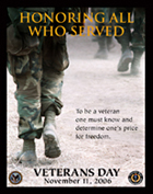 Veterans Day Poster image