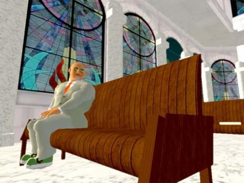 Saturday Heavy Goes to Church