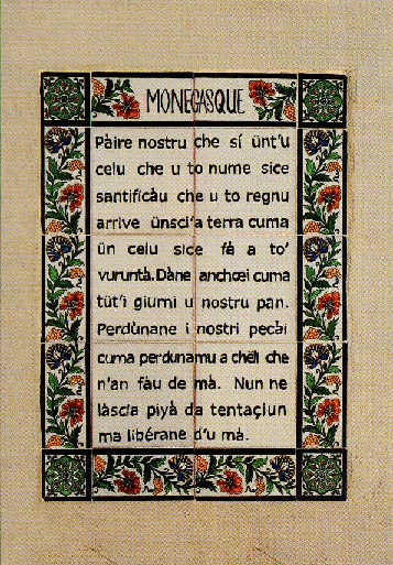 Monegasque tile