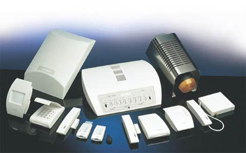 Home security alarm kits contain differnt forms of intruder detection