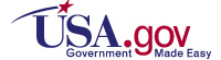 USA.gov Logo official U.S. government web portal