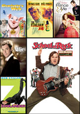 School of Rock, Charlotte's Web, Zoolander, Chinatown, The Prince and Me,