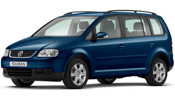 Volkswagen Touran 1.9TDi Bluemotion 105 bhp S 7 Seat 5dr 36 Months from ?189.99 on Contract Hire