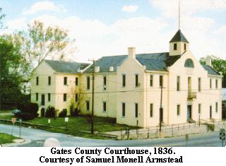 Gates County Courthouse