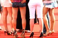 Women in high heels - Photo: ddp