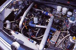 VW Golf turbodiesel Rally Car